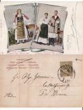 Timisoara- Port popular -tipuri-femei din Banat, Circulata, Printata