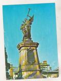 bnk cp Bucuresti - Monumentul eroilor pompieri din Dealul Spirii - circulata