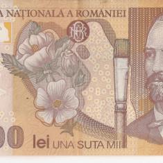 100000 lei 2001 xf - Bancnota romaneasca, An: 1948