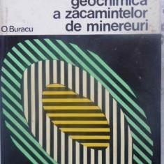 Prospectarea Geochimica A Zacamintelor De Minereuri - O. Buracu, 411026 - Carti Constructii