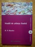 B. P. Hasdeu - Studii de stiinta limbii