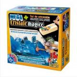 JOC STIINTIFIC, MEGA CRISTALE MAGICE+SET DE EXCAVATIE, D-Toys