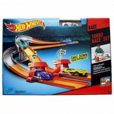 Jucarie Pista Hot Wheels - Cursa Turbo BGJ10 Mattel - Masinuta