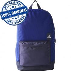Rucsac Adidas Classic Versatile -rucsac original - ghiozdan scoala - antrenament - Rucsac Barbati Adidas, Culoare: Albastru, Marime: Marime universala