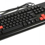 TASTATURA A4TECH 3X fast Gaming, USB, G300-USB (include timbru verde 0.1 lei)