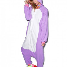 PJM43-10 Pijama intreaga kigurumi, model unicorn - Pijamale dama, Marime: M
