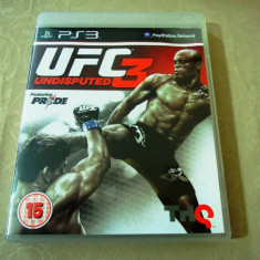 Joc UFC 3, PS3, original, alte sute de jocuri! - Jocuri PS3 Thq, Sporturi, 16+, Single player