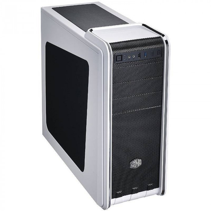 Carcasa Cooler Master CM 590 III Window White foto mare