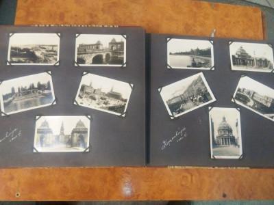 Album foto cu poze ilustraie orase din 1931 foto