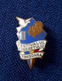 Insigna Festivalul Tineretului - Timisoara - 1959