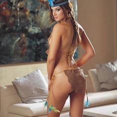 NAUGHTY NATIVE RED DIAMOND - Lenjerie sexy femei