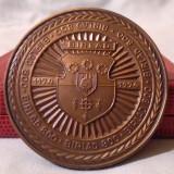 Placheta SUPERBA - Aniversare 800 de ani Municipiul  BIRLAD , medalie in cutie