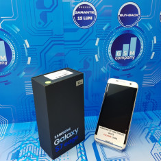 Samsung Galaxy S7 Edge G935F White FACTURA+GARANTIE FULLBOX Necodat - Telefon Samsung, Alb, 32GB, Neblocat, Single SIM