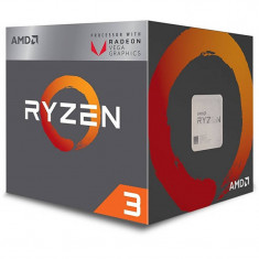 Procesor AMD Ryzen 3 2200G Quad Core 3.5 GHz Socket AM4 BOX - Procesor PC AMD, Numar nuclee: 4