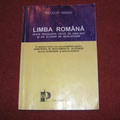 TESTE DE LIMBA ROMANA - THEODOR HRISTEA - Culegere Romana