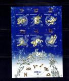 Romania 2011 Zodiac I -bl. 502, Nestampilat