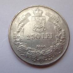 V- 250 lei 1940, superb! - Moneda Romania, Argint