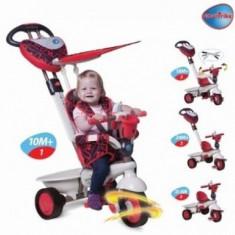 Tricicleta Smart Trike 4 in 1, Dream Touch Red - Tricicleta copii