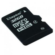 MicroSDHC 32GB (Class 4) + adaptor SD KINGSTON