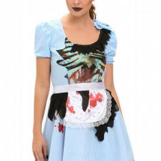 Q542-4 Costum tematic Zombie Kansas Girl - Costum Halloween, Marime: M, L, S/M