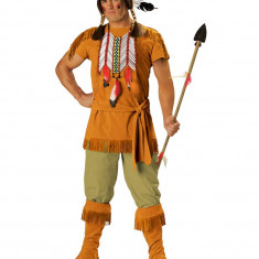 MAN29 Costum tematic indian barbati, Marime: M/L