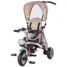 Tricicleta Chipolino Maverick beige - Tricicleta copii