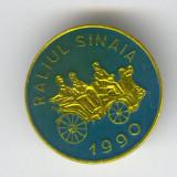 Insigna RALIUL SINAIA 1990 - MASINI DE EPOCA #