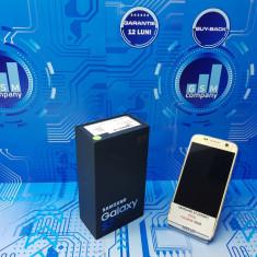 Samsung Galaxy S7 G930F Gold FACTURA+GARANTIE IMPECABIL Fullbox - Telefon Samsung, Auriu, 32GB, Neblocat, Single SIM