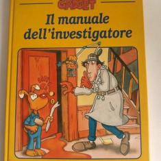 Carte pt copii, in limba italiana, Il Manuale dellínvestigatore, Spettore Gadget - Carte in italiana