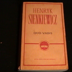 QUO VADIS-H. SIENKIEWICZ-550 PG-TRAD.R.LUCA-E. LINTA-CLASICII LIT. UNIV.- - Roman istoric
