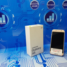 Samsung Galaxy A5 2017 A520F Peach FACTURA+GARANTIE Impecabil Fullbo - Telefon Samsung, Roz, Neblocat, Single SIM