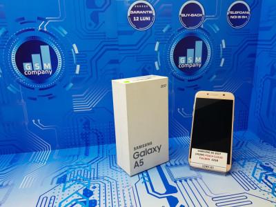 Samsung Galaxy A5 2017 A520F Peach FACTURA+GARANTIE Impecabil Fullbo foto