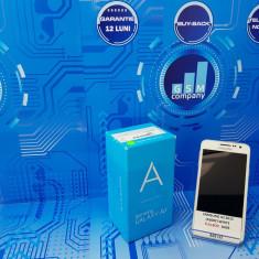 Samsung Galaxy A3 2015 A300F Duos White/Alb FACTURA+GARANTIE Fullbox - Telefon Samsung, Neblocat, Dual SIM, 1.5 GB