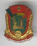 BRIGADIER 1970 - UTC - Uniunea Tineretului Comunist -  insigna superba