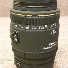 Obiectiv  Sigma 70 f2,8 EX DG Macro pentru Canon