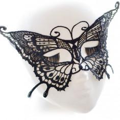 MSK75-1 Masca de carnaval, din broderie, model fluture - Masca carnaval