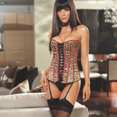 CORSET THONG - STOCKINGS - Lenjerie sexy femei