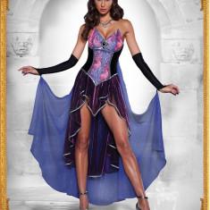 M313 Costum Halloween vrajitoare, Marime: S/M