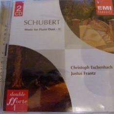 Schubert -piano duet - 2 cd - Muzica Clasica emi records