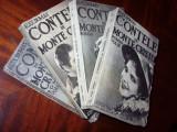 ALEX.  DUMAS  -  CONTELE  DE  MONTE  CRISTO  ( 4 vol, editie veche, de colectie)