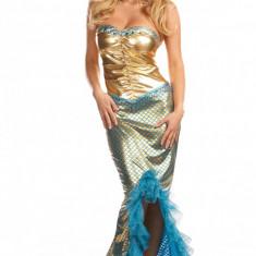 R163 Costum Halloween sirena, Marime: M