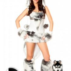P99 Costum tematic caine husky - Costum Halloween, Marime: M