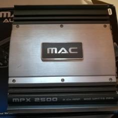 Amplificator auto 2 canale MAC Audio MPX 2500 600 watts, peste 200W