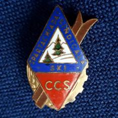 Insigna CCS - SKI - Spartachiada sindicala - turism - sport