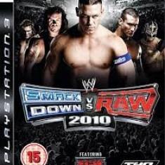 WWE Smack Down vs Raw 2010 - Featuring ECW - PS3 [Second hand] - Jocuri PS3, Sporturi, 12+, Multiplayer
