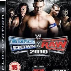 WWE Smack Down vs Raw 2010 - Featuring ECW - PS3 [Second hand] - Jocuri PS3, Sporturi, 12+, Multiplayer