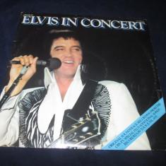 Elvis Presley - Elvis In Concert _ dublu vinyl, 2 x LP _ RCA (Italia) - Muzica Rock & Roll rca records, VINIL