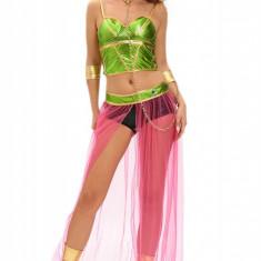 Q541 Costum tematic Slave Princess - Costum dans, Marime: M, M/L, S/M