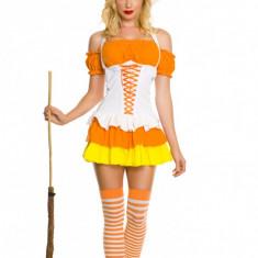 E325 Costum Halloween vrajitoare, Marime: M