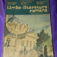 Manual vechi Limba si literatura romana 1994 Maria Pavnotescu (f0906 - Carte Teste Nationale